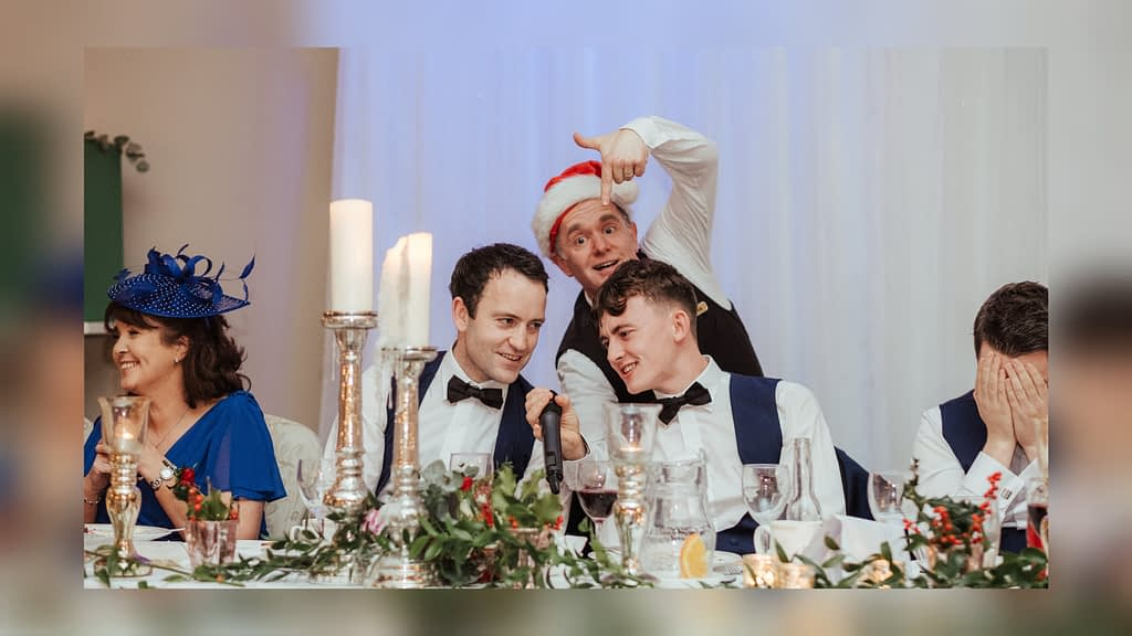 Christmas party entertainment