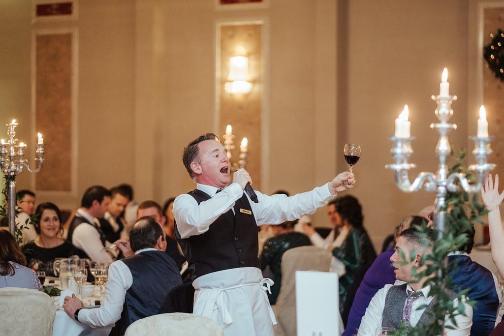 undercover opera singing waiters