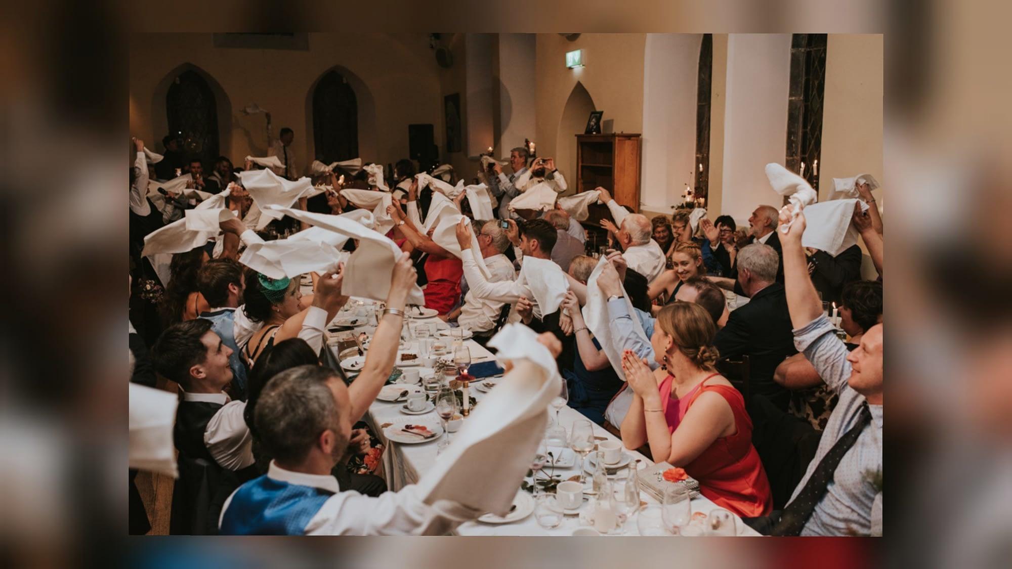 singing waiters cork wedding entertainment