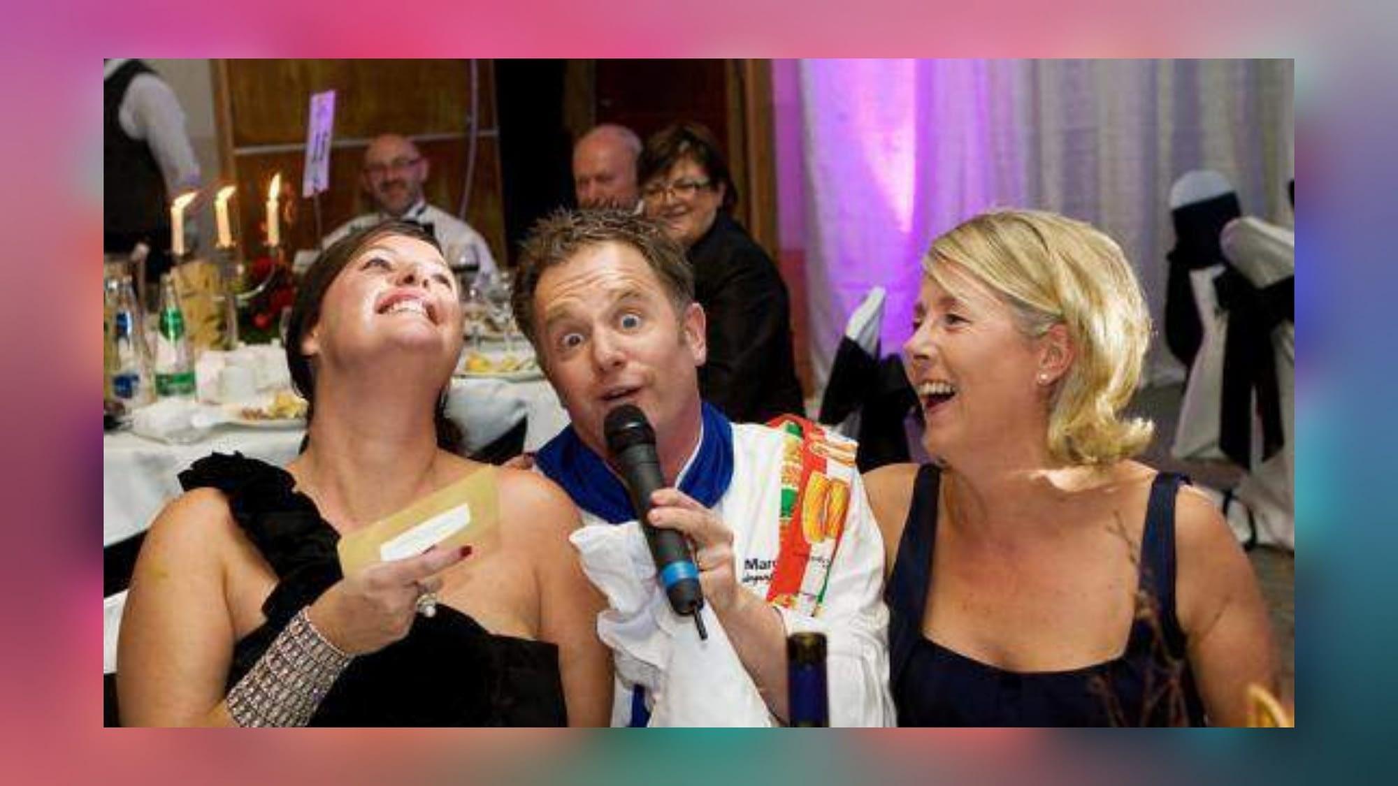 Singing waiter Northern Ireland