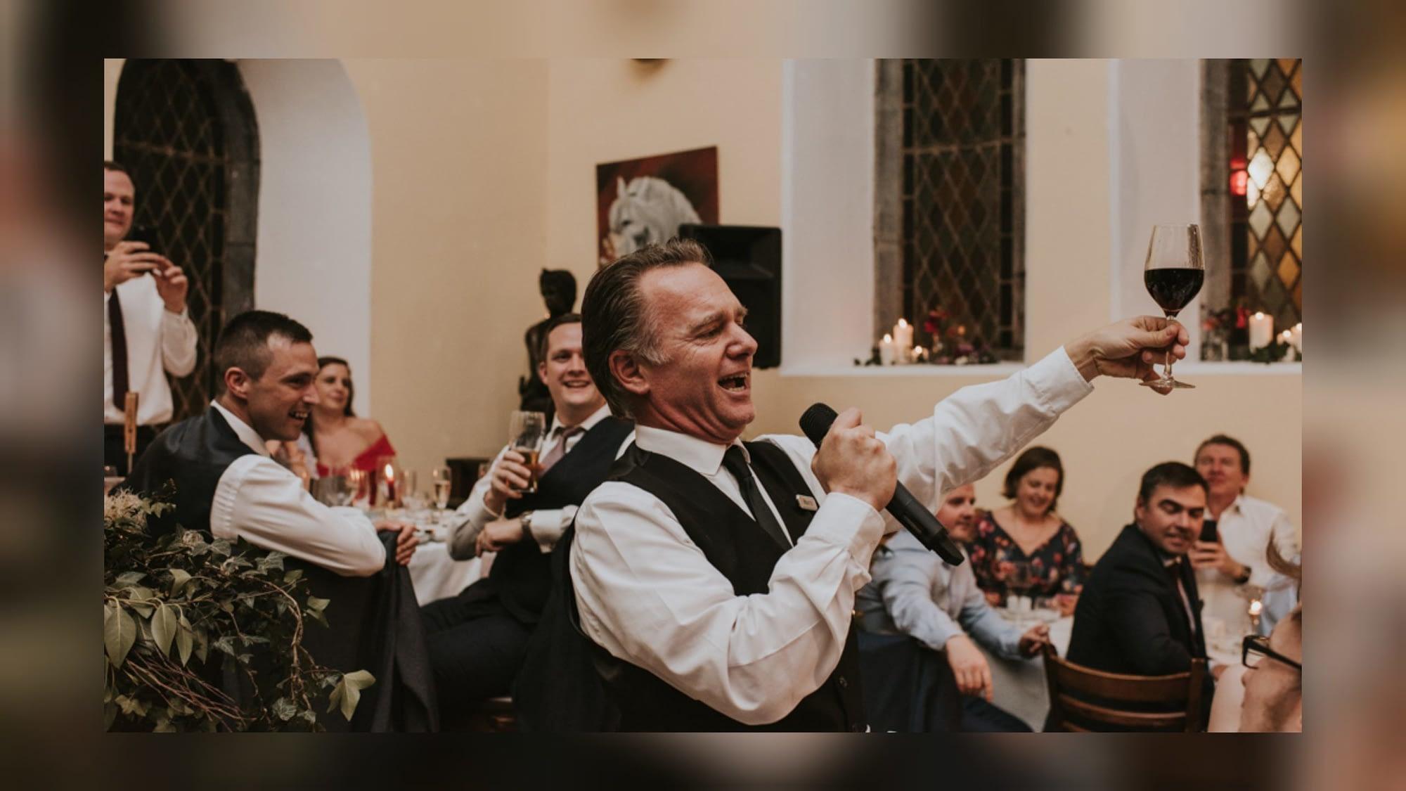 Singing waiter marco cork