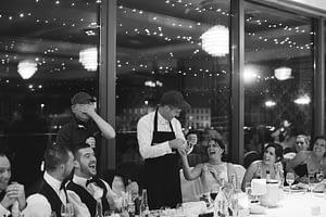 singing chef cork wedding