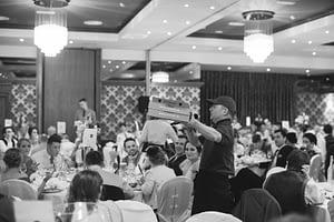 kerry singing waiters wedding