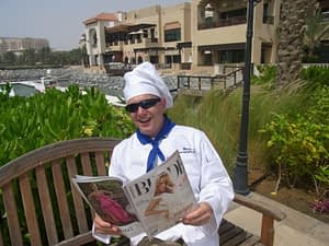 Singing Chef and Singing Waiters Abu Dhabi