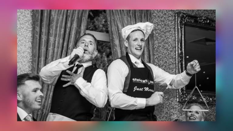 Northern Ireland Singing waiter
