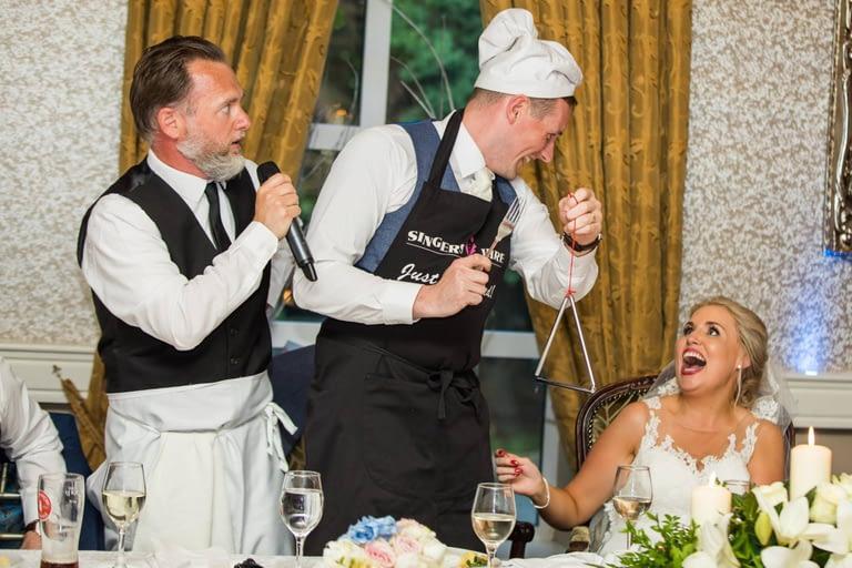 singing waiters Ireland