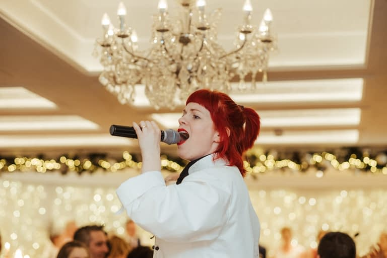 singers for hire singing chef