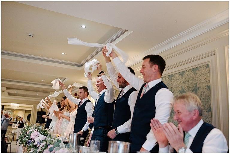 guests love opera singing waiters