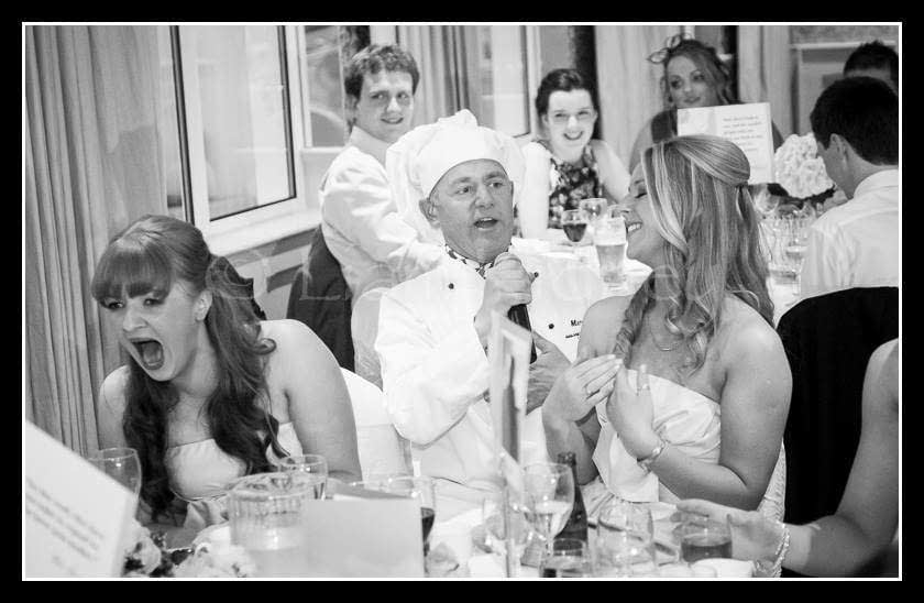 the singing chef for hire